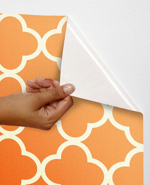 Removable self adhesive colourful modern vinyl wallpaper for Modern vinyl wallpaper