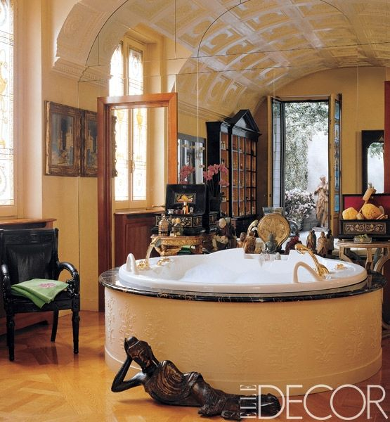 28 Best Images About Donatella Versace's House On