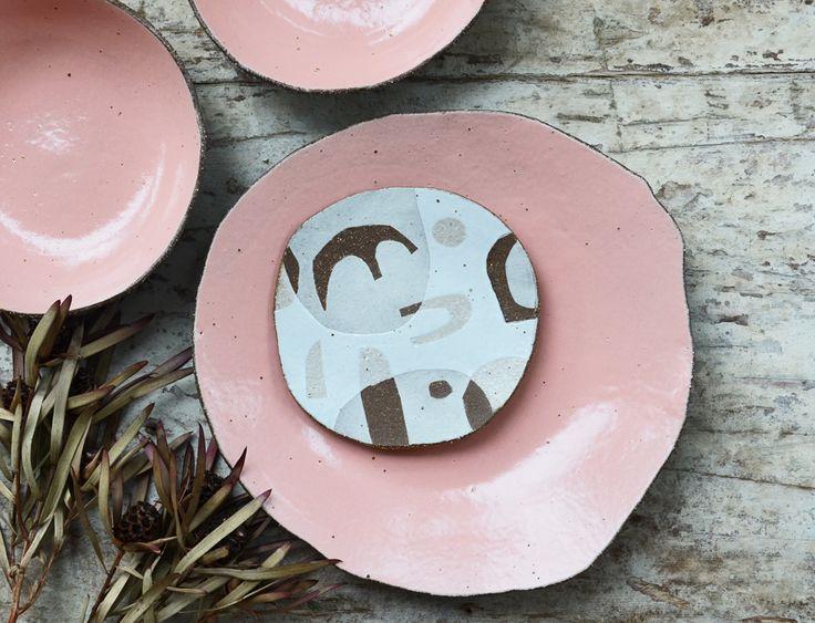 Handmade ceramic plates by Susan Simonini - pottery, ceramics