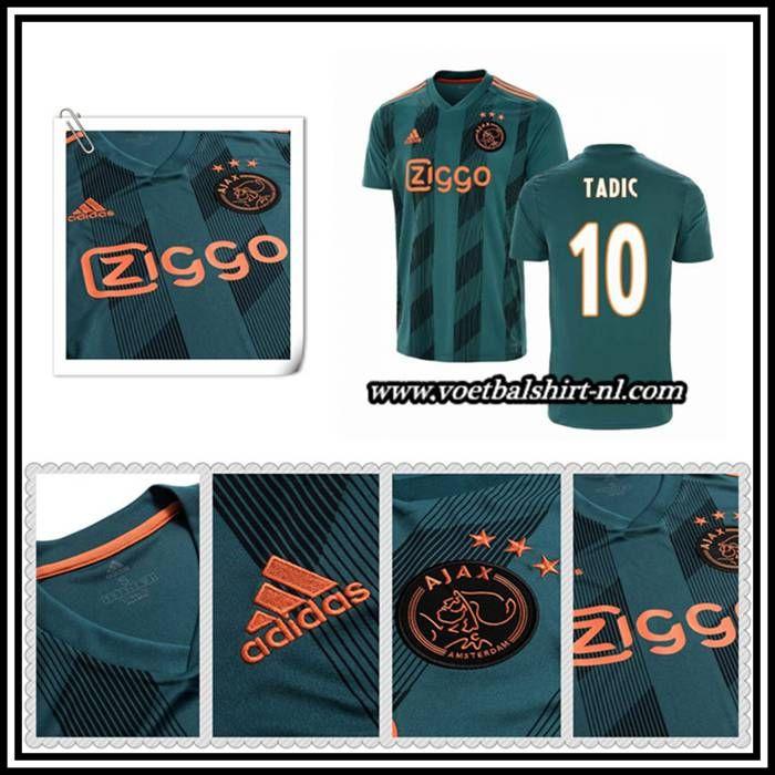 Nieuw Tadic 10 Shirt Donkergroen Afc Ajax Uitshirt Adidas 2019 2020 In 2020 Ajax Shirts Afc Ajax