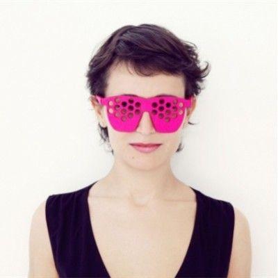 Unisex Pub/Party Felt Glasses (Dots)