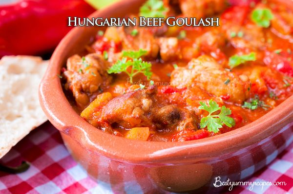Hungarian Beef Goulash. | Food and Drinks | Pinterest