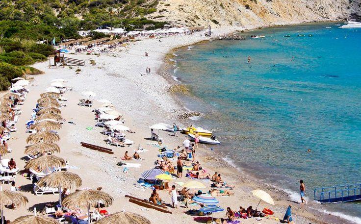 Tropicana Beach Club at Cala Jondal beach.