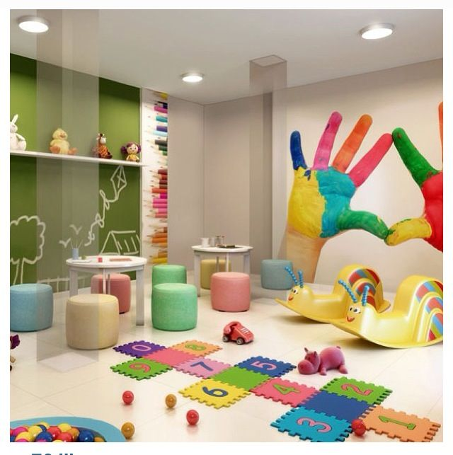 Playroom + quadro negro