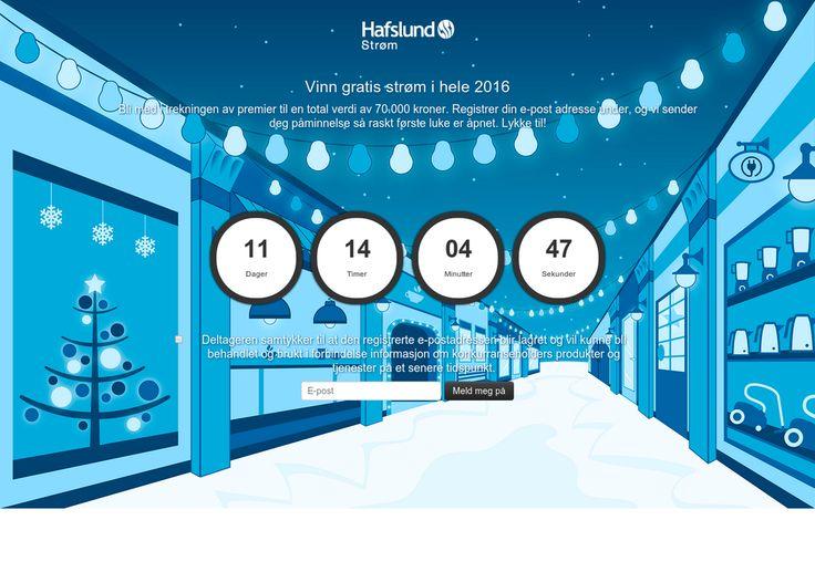 Sjekk ut denne kalenderen Vinn gratis strøm i hele 2016