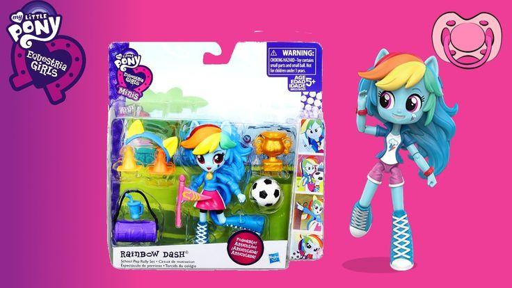 Equestria Girls - Unboxing Rainbow Dash Mini