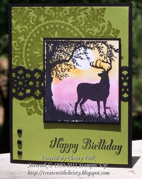 My Hubby's Birthday by StampinChristy - Cards and Paper Crafts at Splitcoaststampers