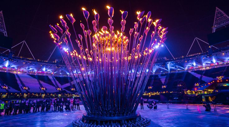 #London2012 olympics cauldron: A spectacular, moving centrepiece The Games by heatherwick studio