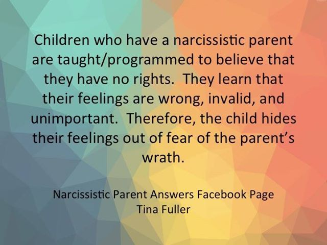 Children of Narcissists #NarcissisticAbuse #narcissism