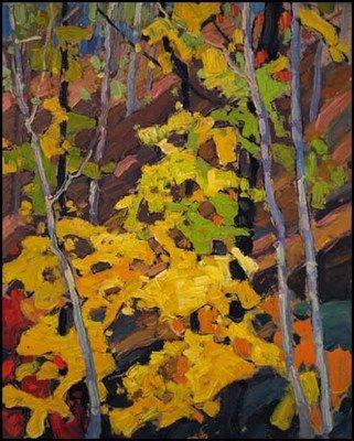 Autumn Woods by Franklin Carmichael