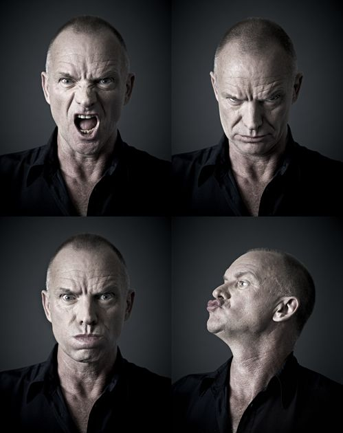 """When you reach a certain age, you realize that life is finite. You can be depressed by that, or you can say, 'I'm going to appreciate every minute to its maximum potential.'"" - Sting (photos by Andy Gotts)"