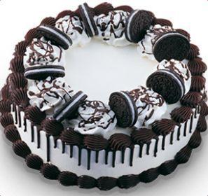 Baskin Robbins Oreo Ice Cream Cake - Nutrition Facts