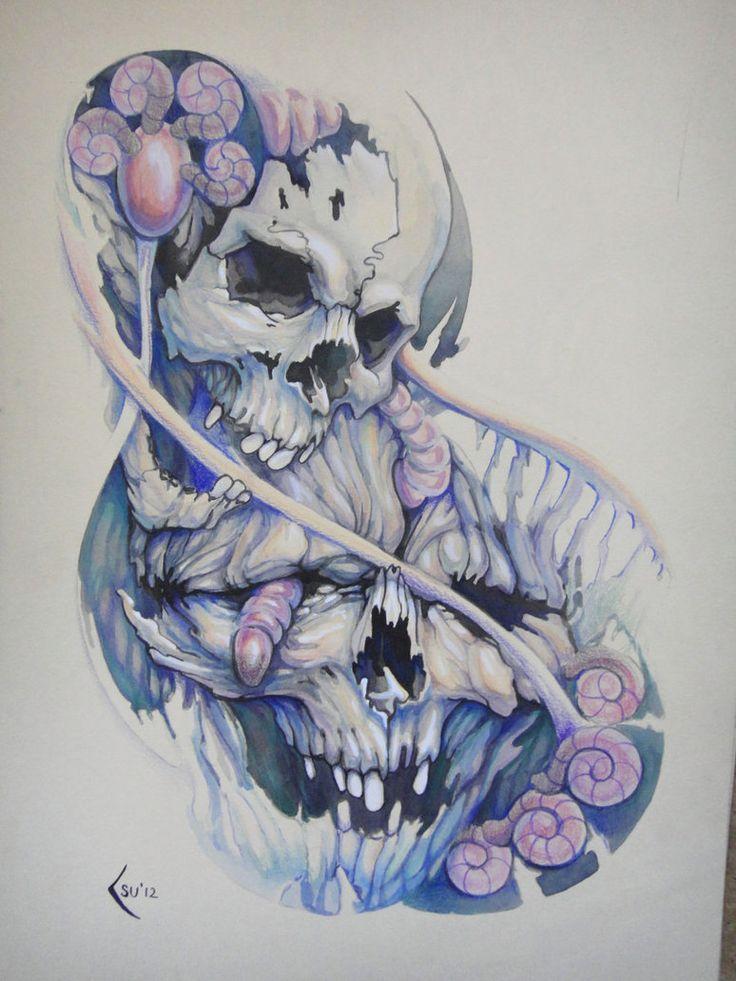 D Foot Tattoo Designs