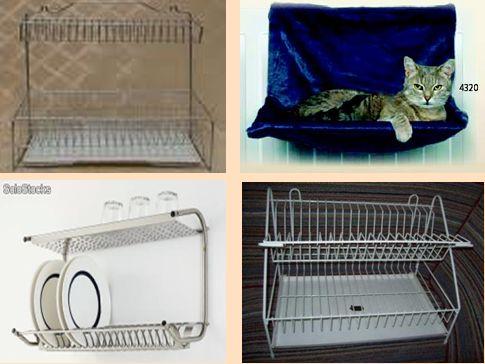 cama para gato de escurridor/organizador de platos