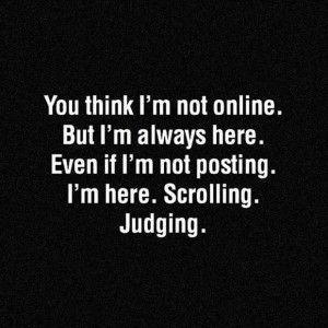 Social media sarcastic humor