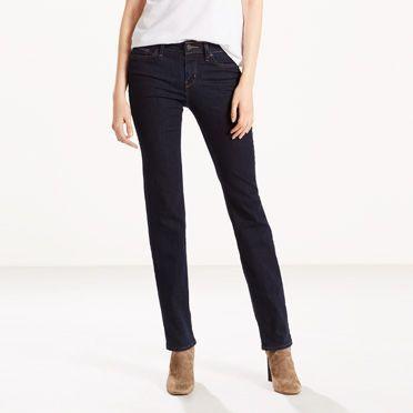Levi's 714 Straight Jeans - Women's 30x32