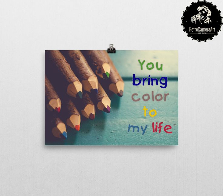 Someone has brought #colors to ur #life? :) Show how you #love her/him!   <3 #RetroCamaeraArt