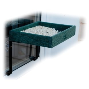 Window bird feeder, allows all different kinds of birds to be viewed up close and personal. found at your local Wild Birds Unlimited