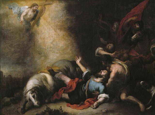 Η μεταστροφή του Αγίου Παύλου (1675-80) Μουσείο ντελ Πράδο στη Μαδρίτη