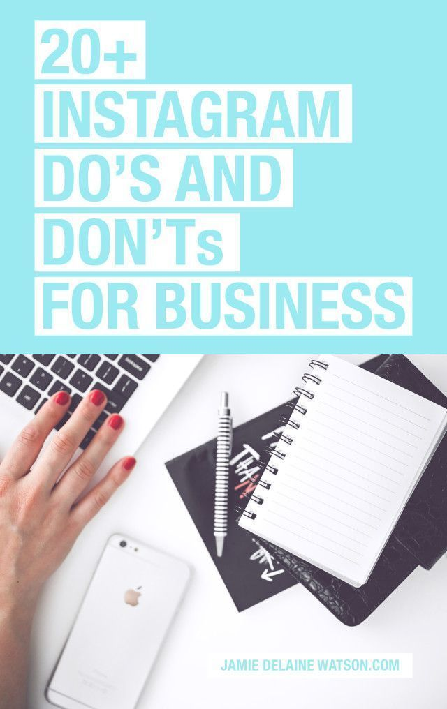 How to Use Instagram for Business: A List of DO'S and DON'TS for Instagram success! PLUS: Watch a FREE video tutorial on editing iPhone photos!
