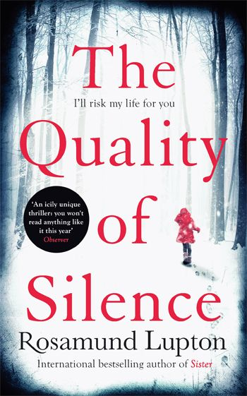 Yasmin and her profoundly deaf young daughter Ruby arrive in the forbidding icy wilderness of Alaska to search for Ruby's father, Matt. As they travel deeper into the endless winter night, someone is sinisterly watching them. A marvellous, chilling thriller.
