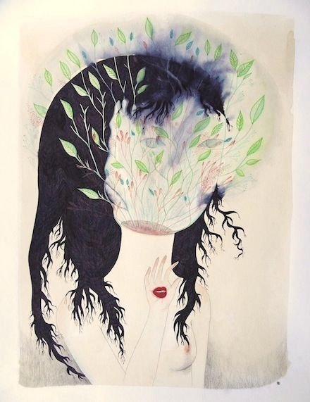 Cendrine Rovini. I decided i had to repin this the minute i seen it; kind of like instinct. That's what i love about art.