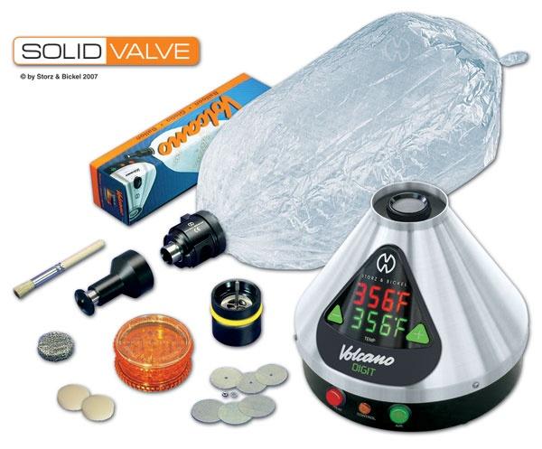 VOLCANO DIGIT Vaporization System with SOLID VALVE Starter Set - 01 00 DS