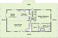 Small Log Cabin Floor Plans | ... log home while saving your marriage and your sanity « Log Home bLog