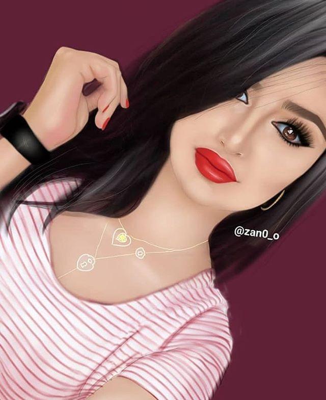 G I R L Y M En Instagram گونـي أجمـل ممـآ يظنون صعبة الگسر م ذهـلة گونـي دائما أنت Beautiful Girl Drawing Cute Girl Drawing Cute Girl Wallpaper