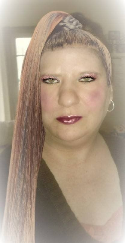 Here's a look I created with Sally Beauty virtual makeover tool.