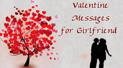 30 Romantic Valentine Messages For Girlfriend ~ Valentines Day Ideas, Wishes, SMS, Poems and Quotes