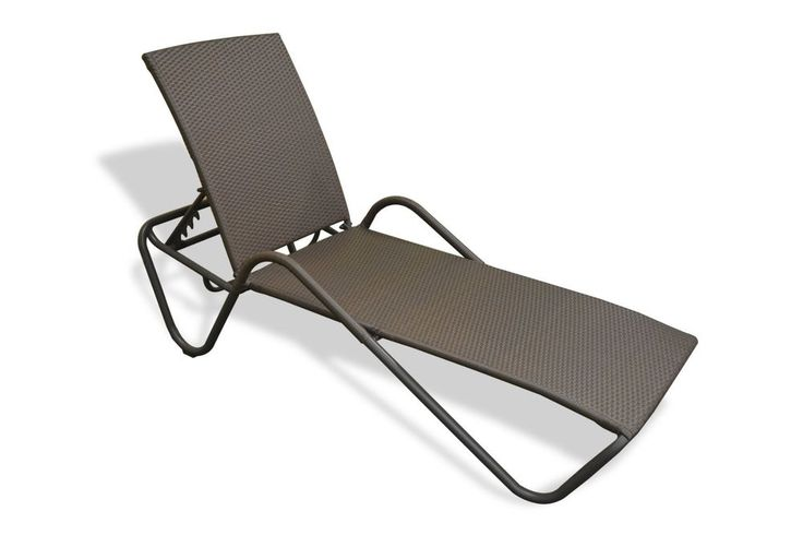 Modern Outdoor Chaise Lounge Chair | Tortuga Outdoor Fiji Sun Lounger #TortugaOutdoor
