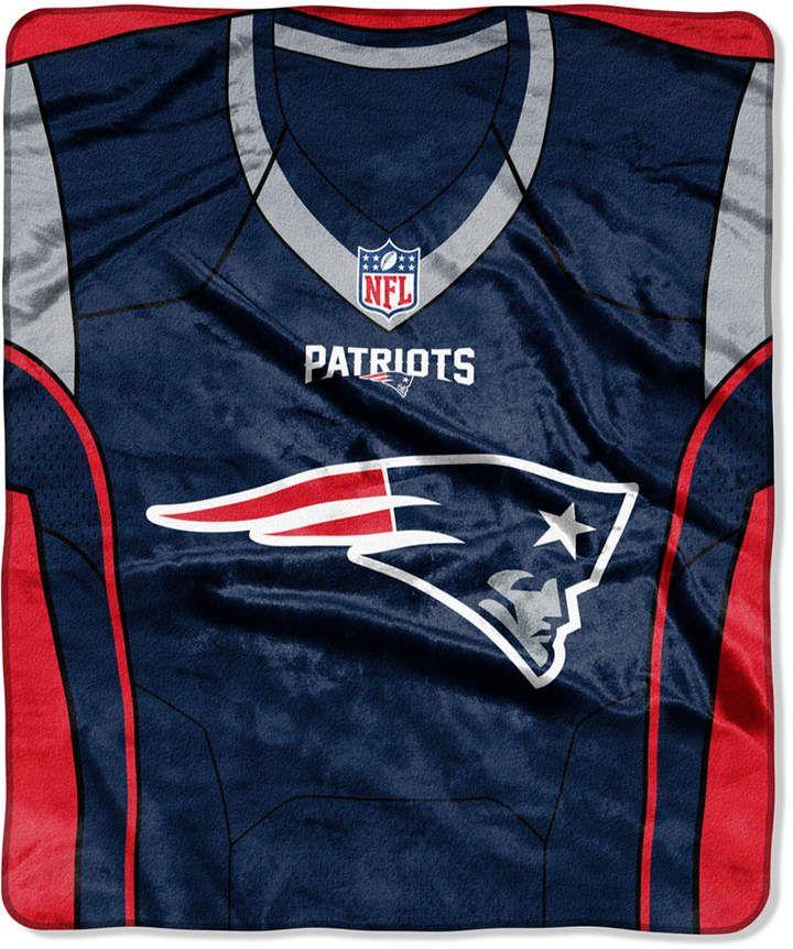 699c952f0 Northwest Company New England Patriots Jersey Plush Raschel Throw   superbowl  newenglandpatriots  affiliatelink  footballjersey