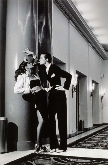 Yves Saint Laurent, Vogue, Paris 1979 © Helmut Newton Estate Collection Maison Européenne de la Photographie, Paris