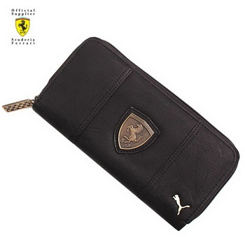 puma ferrari wallet grey