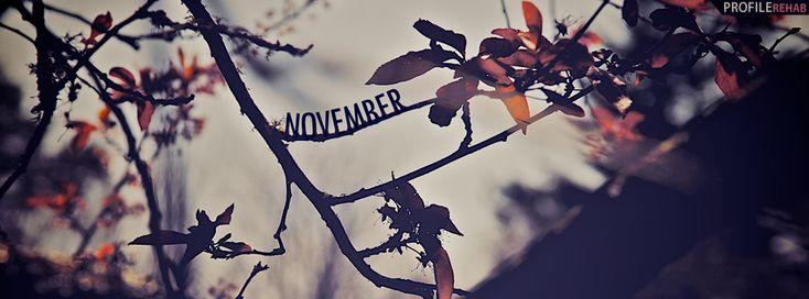 November Scenery Facebook Cover