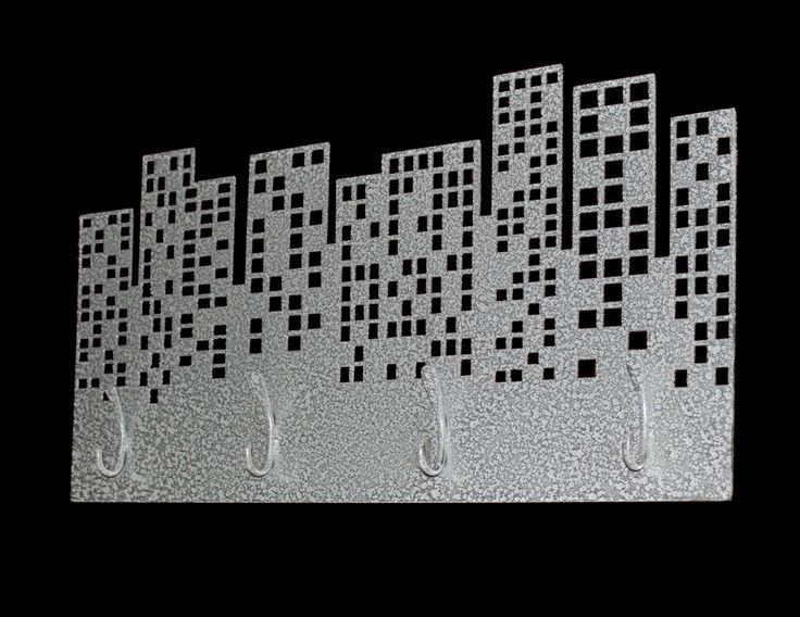 This hanger works perfectly with a black background to create the effect of a crowded city in the night