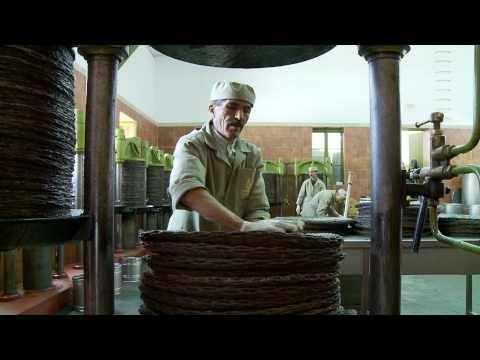 A cold press for olives in Tebourba, Tunisia.