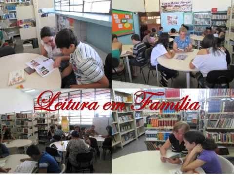 Sala de Leitura - Diretoria de Ensino de Guaratinguetá - Município de Cachoeira Paulista - Escola Juca Padre.