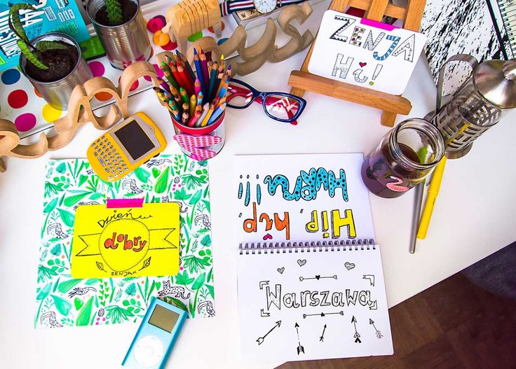 hand lettering, calligraphy, letterart, kaligrafia, workspace, desk, homeoffice, blackberry, photo: Zenja blog