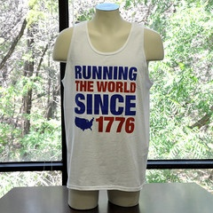 Running the World Since 1776 Party Tank Top