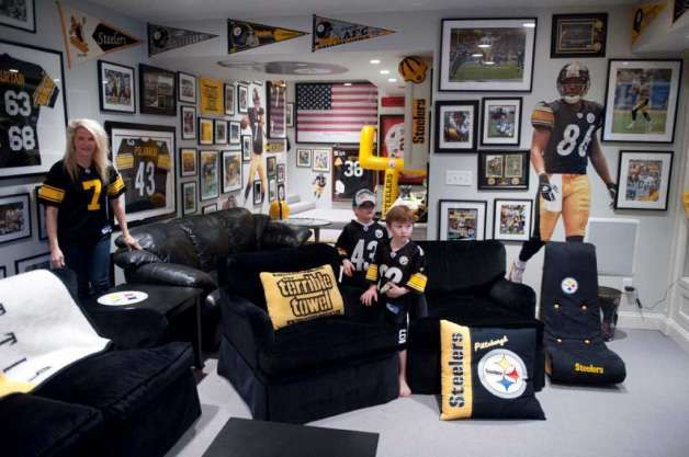 38 Best Pittsburgh Steelers Rooms Amp Wo Man Caves Images