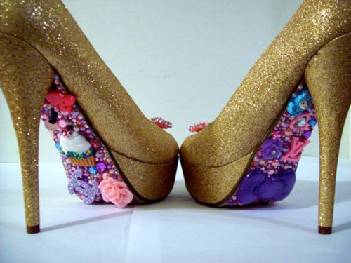 Eh' looove them except the gold... maybe in hot pink glitter.
