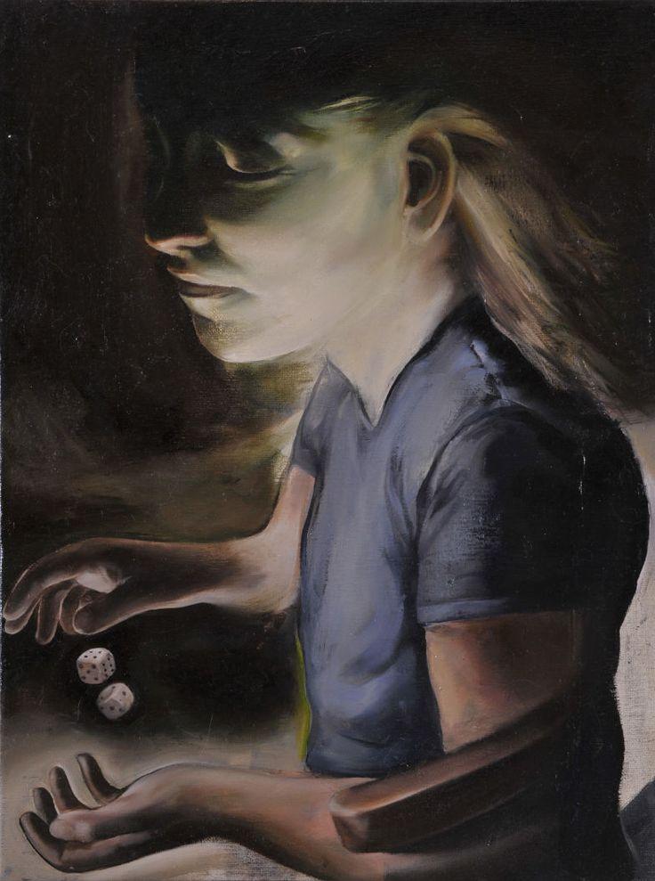 2008     oil on canvas     42x32 cm      Katsipanos Theofilos