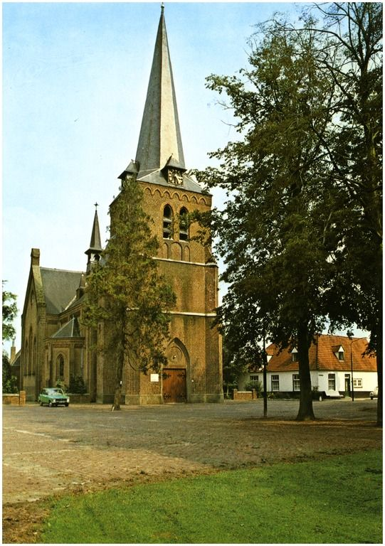 Reusel-De Mierden, Hooge Mierde, Schoolstraat 1980