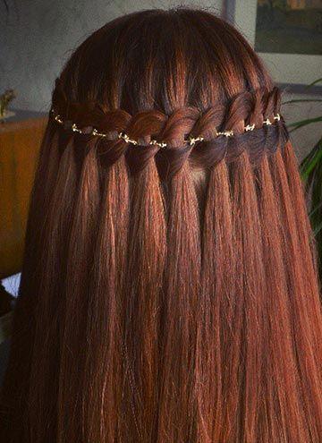 4 strand waterfall braid by Aili punupatsid ja soengud