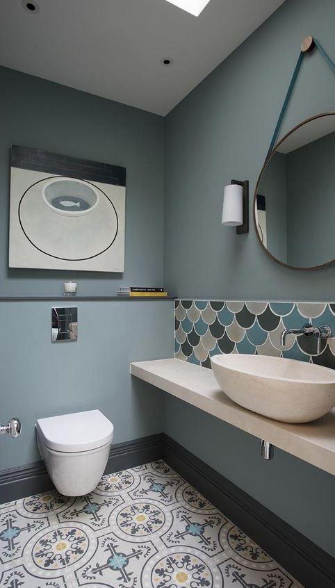 modern marrocan bathroom interior design
