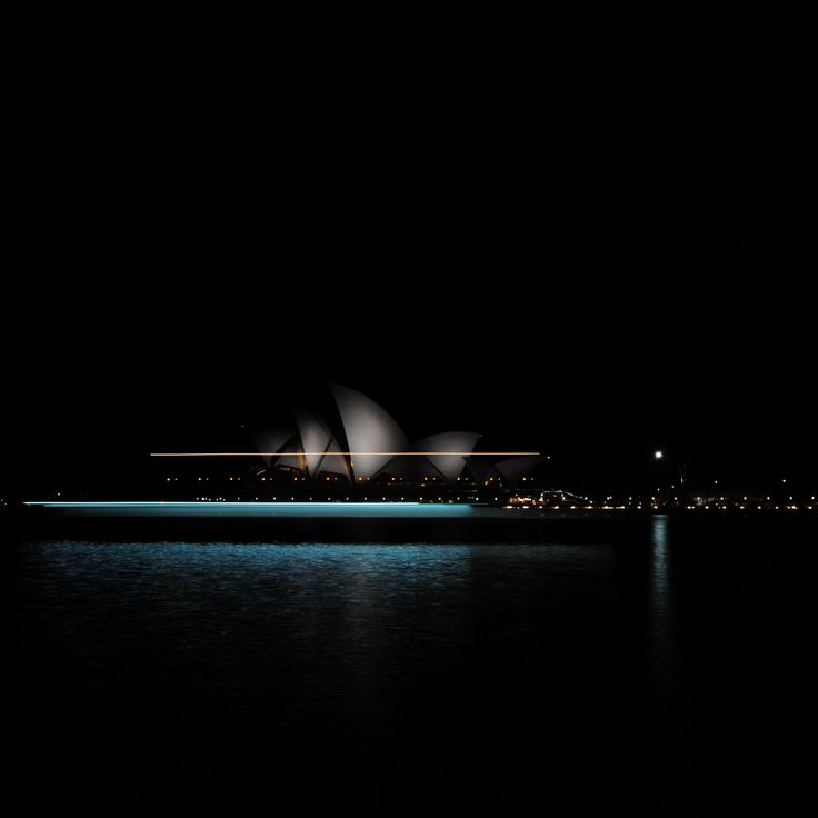 Long Exposure on Sydney Harbour while an ocean liner was leaving port.