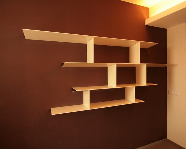 wall bookshelves  www.harrierdesign.it