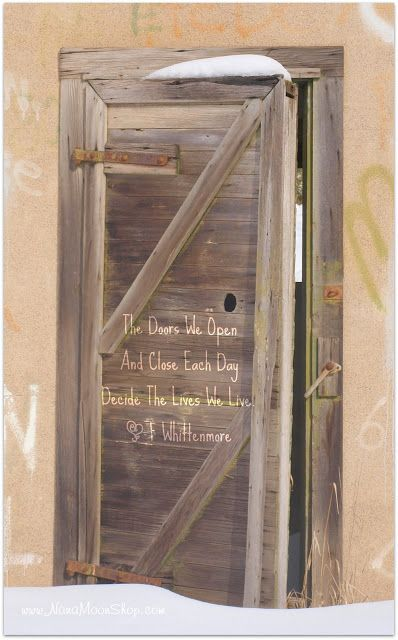 Antigue Door With Quote : Best images about door quotes on pinterest milton